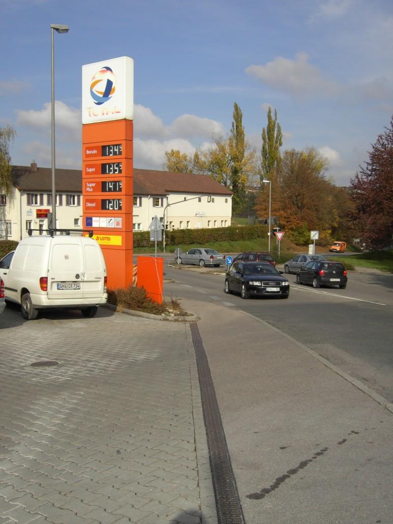 Tankstelle Schwäbisch Hall